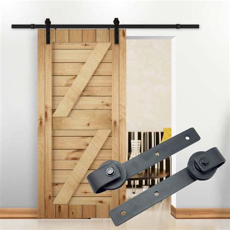 design house brand door hardware 10ft country barn wood steel sliding door hardware closet