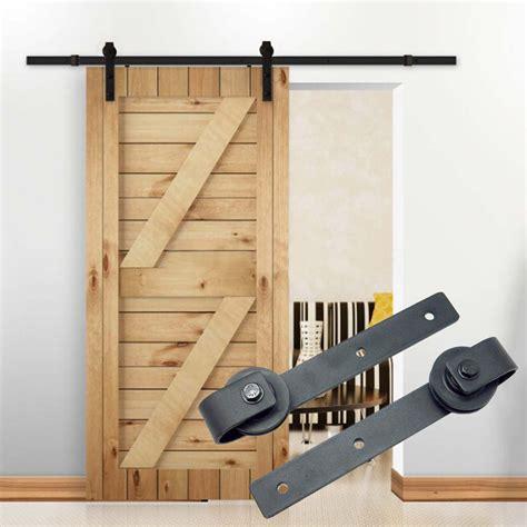 Rustic Sliding Barn Doors 10ft Country Barn Wood Steel Sliding Door Hardware Closet