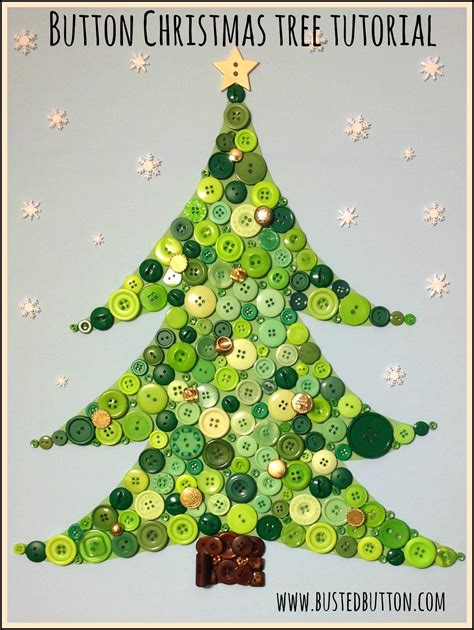 button christmas tree tutorial busted button