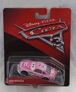disney pixar cars 3 reb meeker #36 tank coat die cast car