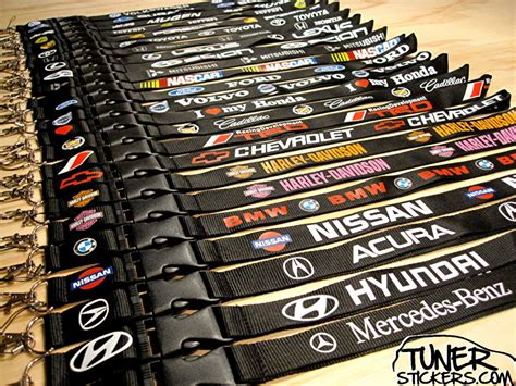 lanyard designs tuner stickers