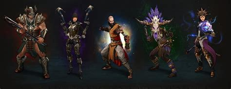 diablo 3 character classes the evolution of diablo character classes through time