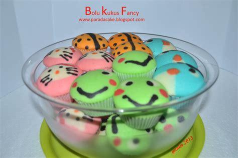 parada cakes bolu kukus fancy karakter
