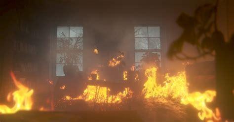 set  living room  fire  vfx