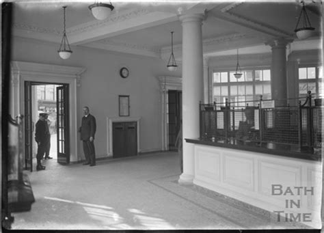 Bath Post Office by Inside Bath Post Office Northgate C 1927 By 25090