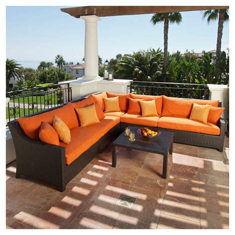 outdoor patio sofa set com rst outdoor op pess9 can k cantina 9 piece