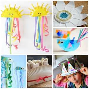 Craft Work In Paper For - craft work with paper plate
