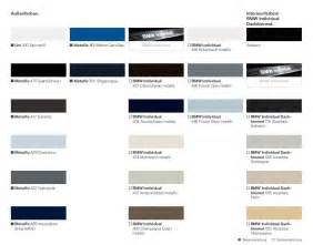 Bmw exterior color code chart car pictures