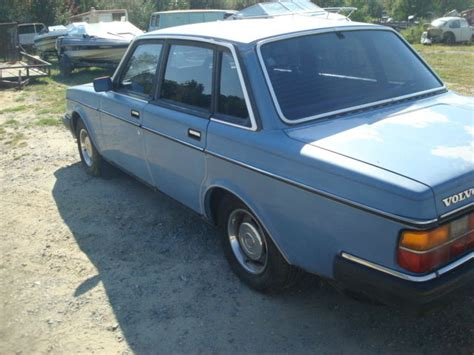 volvo 240 diesel 1984 volvo 240 diesel 4 door stick shift with overdrive