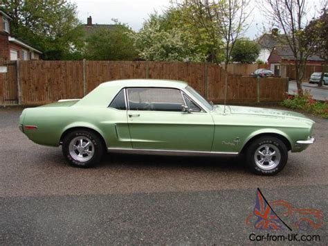 Mustang Auto 1968 by 1968 Ford Mustang 289 Auto Coupe
