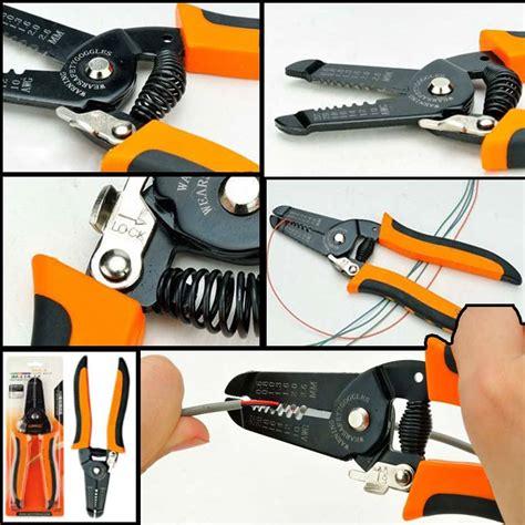 Pemotong Pengupas Kabel tang pemotong kabel multifungsi dan mudah digunakan