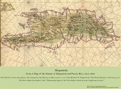 hispaniola map hispaniola genocide studies program