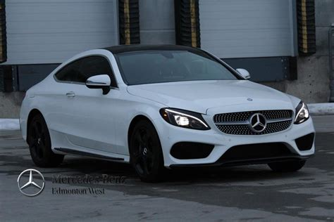 2017 C300 Coupe White by New 2017 Mercedes C Class C300 Coupe In Edmonton