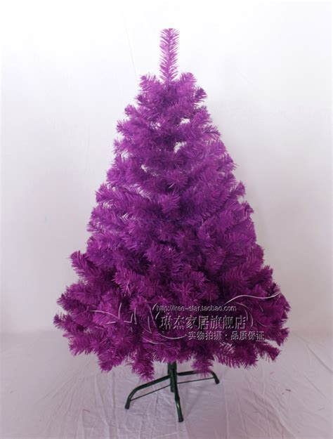 1 2 meters purple christmas tree fiber optic christmas