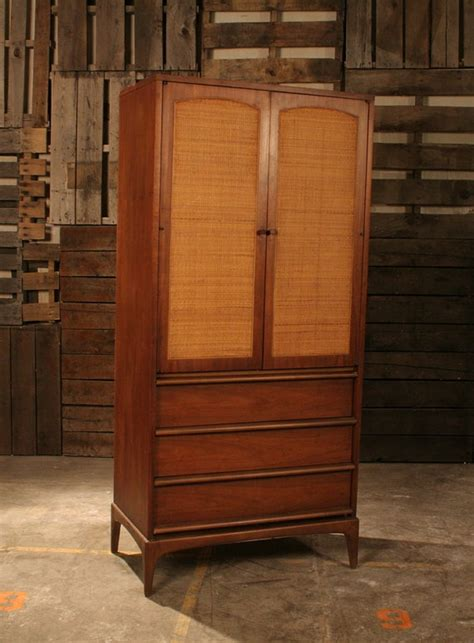 mid century modern armoire mid century modern tall dresser armoire by