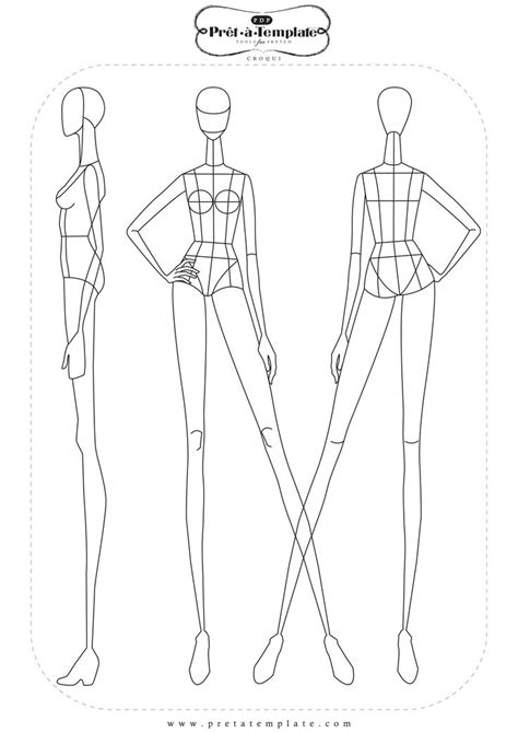 fashion templates the 25 best fashion illustration template ideas on