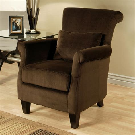 armchair in living room living room cozy dark brown armchair design with