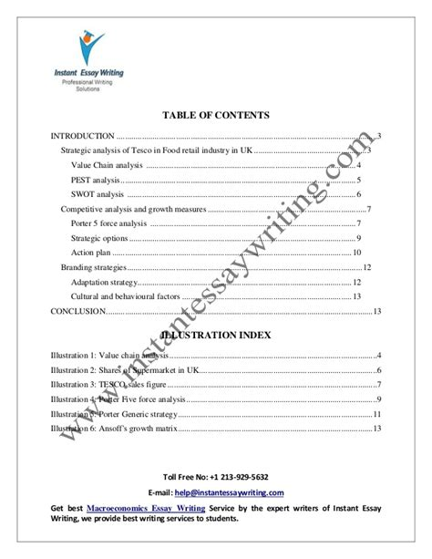 Instant Essay Writer by Sle On Strategic Analysis By Instant Essay Writing