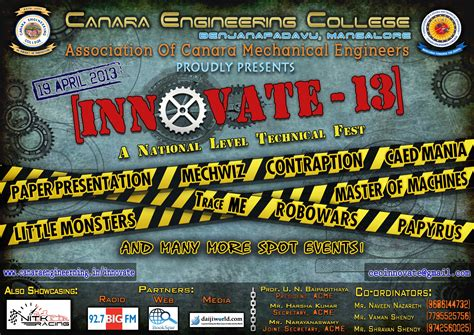themes for engineering college fests innovate 13 technical fest on april 19 2013 organized by