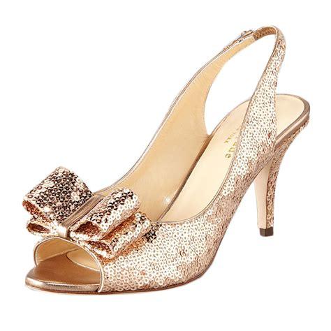 Gold Bridesmaid Shoes by Gold Bridesmaid Shoes Elite Wedding Looks