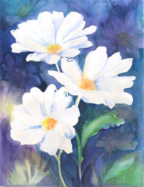 come dipingere i fiori vaselli watercolors dipingere fiori ad acquarello