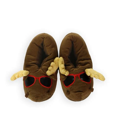 inc slippers gma accessories inc boys cool moose novelty slippers