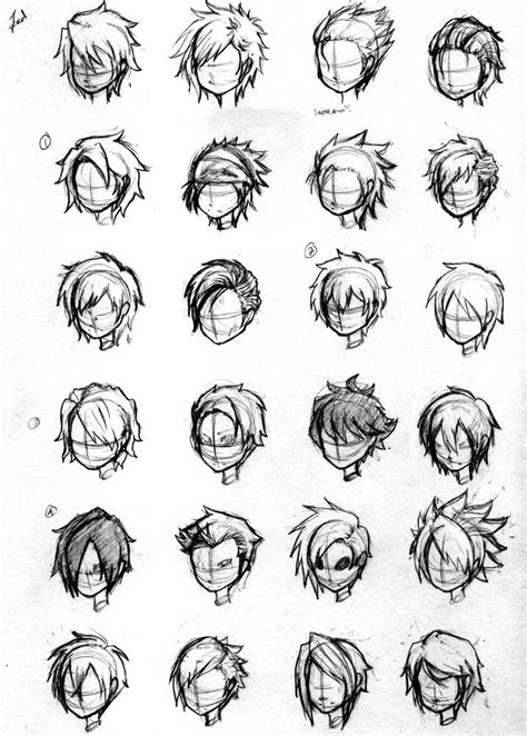 hairstyles for anime characters character hair concepts by noveliaproductions on deviantart