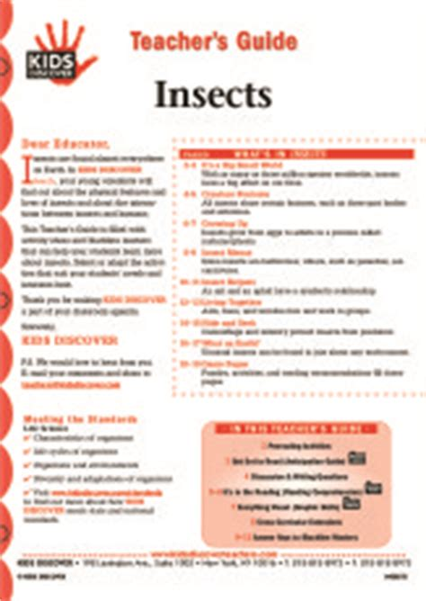 insects kids discover