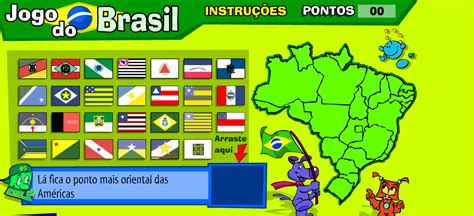 Brasil Jogos Jogo De Geografia Bandeiras Dos Estados Brasileiros