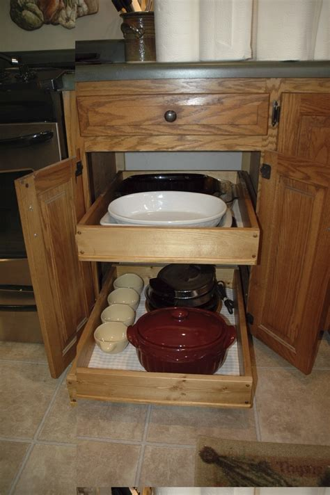 ana white pull  cabinet drawers diy projects