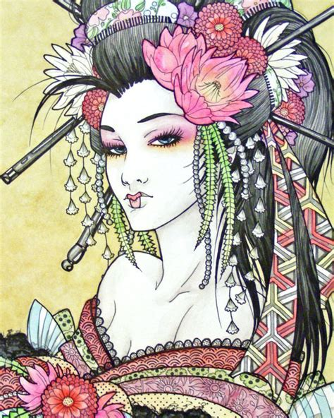 geisha tattoo art gallery geisha art omygad