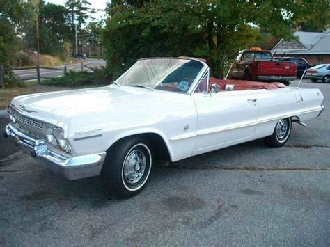 1963 impala convertible 1963 chevrolet impala ss convertible for sale