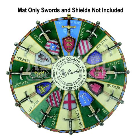 Knights Of The Table List by Knights Of The Table Display Mat Ma 52600s From Collectables