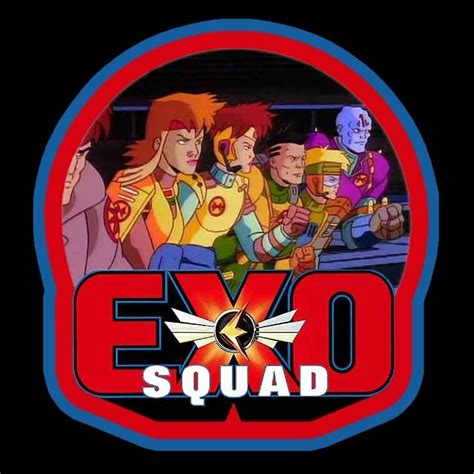 cartoon classic exo squad custom tee  size