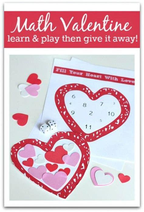 math valentines s day math activity dice at