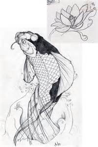 Two Koi Fish Outline by Koi Fish Outline On Chest For Real Photo Pictures Images And Sketches Ideas