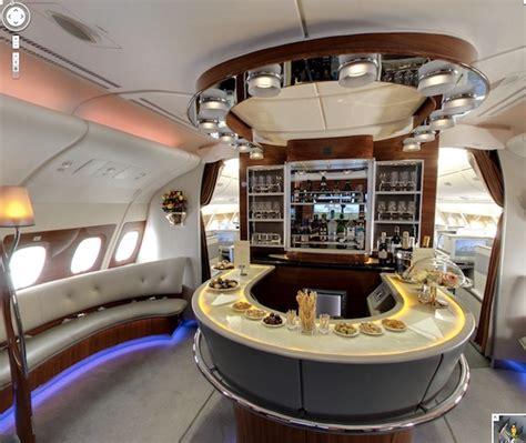 visite virtuelle 360 176 airbus a380 cockpit classe affaires