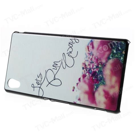 Running 0898 Casing For Sony Xperia M4 Aqua Hardcase 2d quoted let us run away pattern plastic for sony xperia m4 aqua aqua dual tvc mall