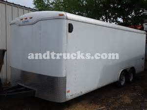enclosed landscape trailers 20ft enclosed landscape trailer haulmark
