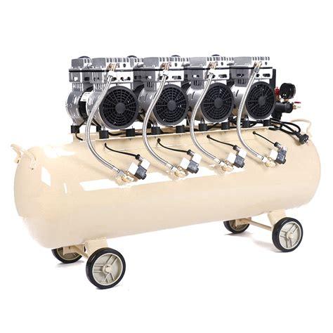 silenced air compressor  cylinder oil  noiseless