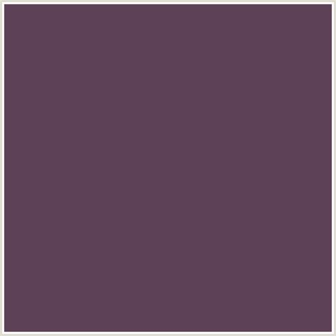 Brinjal Color | 5d4157 hex color rgb 93 65 87 deep pink eggplant