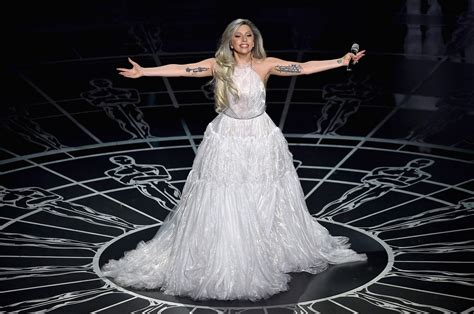 Oscar Frock Horrors Cqs Letters To The by Gaga The Oscars And Quot Haters Quot Huffpost