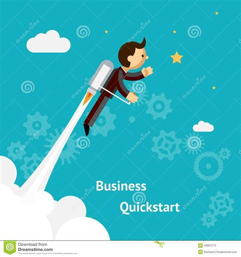 free illustration startup start up business start cartoon design for business growth and start up stock