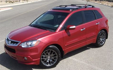 2009 rdx roof rack post your rdx with or without modification list