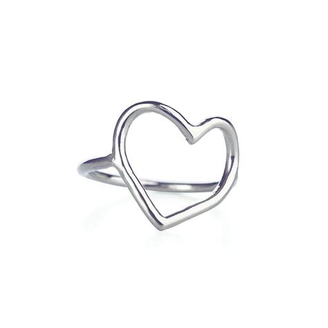 my is open ring in silver by chupi