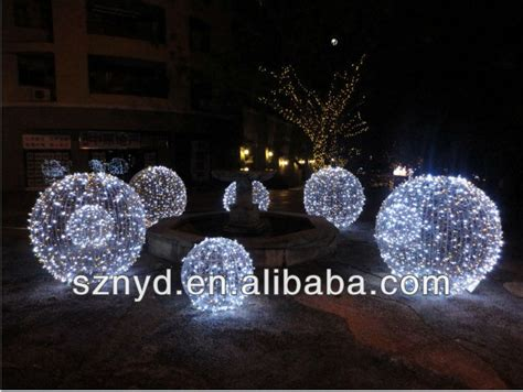 fashionable umbrella ball christmas tree white outdoor