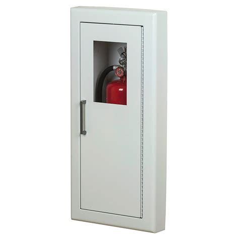 semi recessed extinguisher cabinet larsen architectural series semi recessed