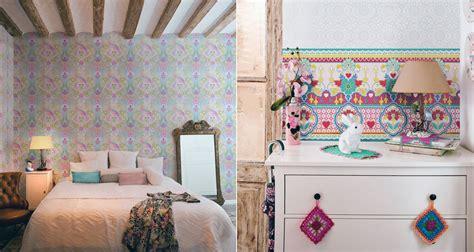 girly wallpaper bedroom girly violet blue floral wallpaper bedroom interior