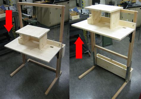 diy convertible standing desk diy convertible standing desk desk design ideas