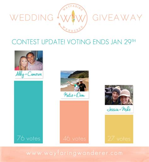 Popgadget Prize Contest Updates by Wayfaring Wanderer Contest Update Wedding Photography